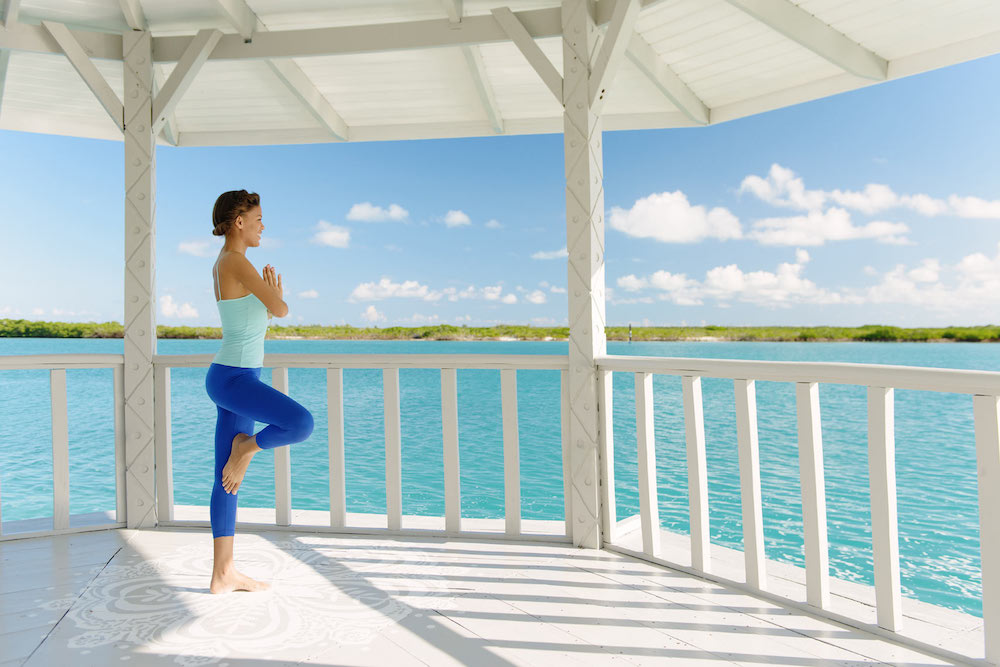 blue Haven resort yoga