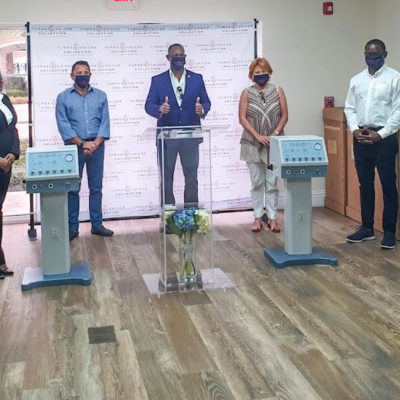 Turks & Caicos Collection Donates Health Equipment to the Turks & Caicos Island Government